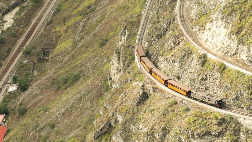Nariz del Diablo or Devil's Nose Train, Ecuador