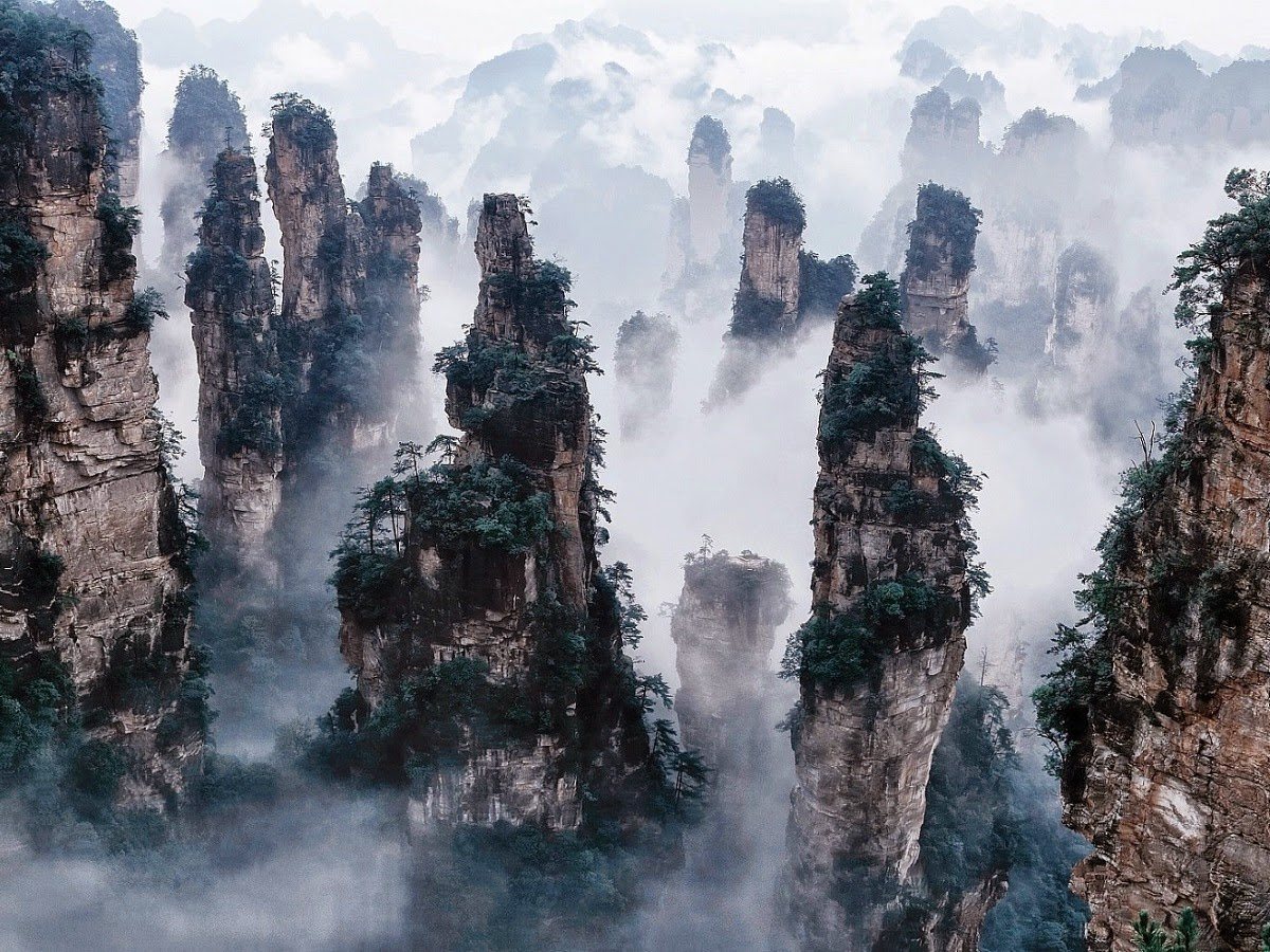Why You Should Visit the Tianzi Mountains in China: The Mountains That Look Like Skyscrapers