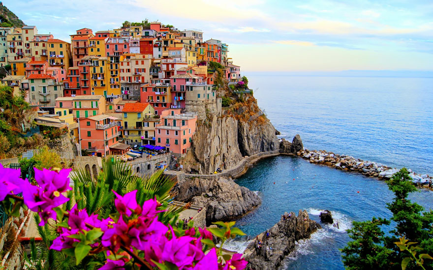 Fairy tale villages - Manarola