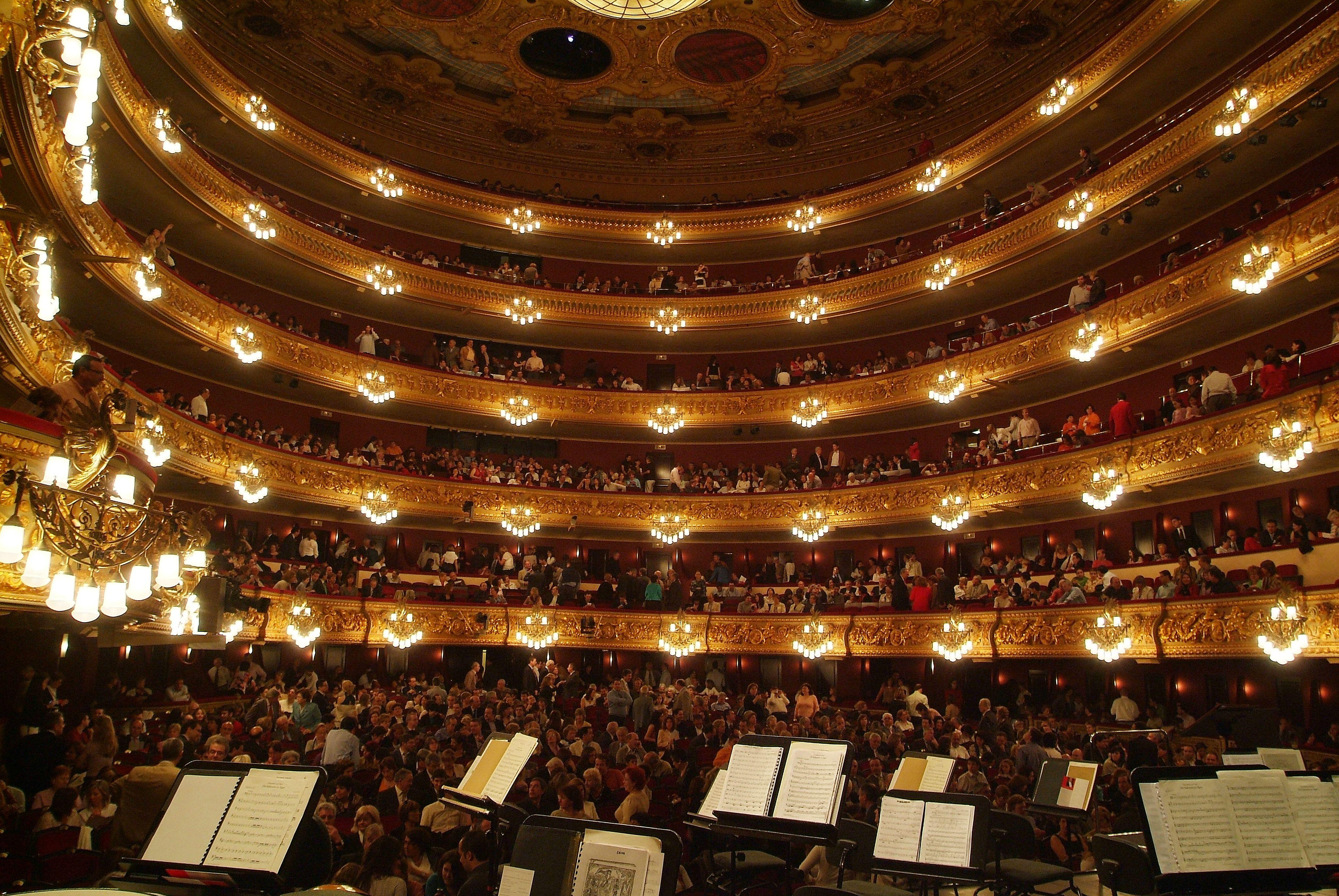 Opera, Gran Teatre Liceu