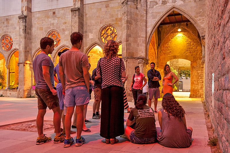 the 'Dark Past' of Barcelona on a night walking tour