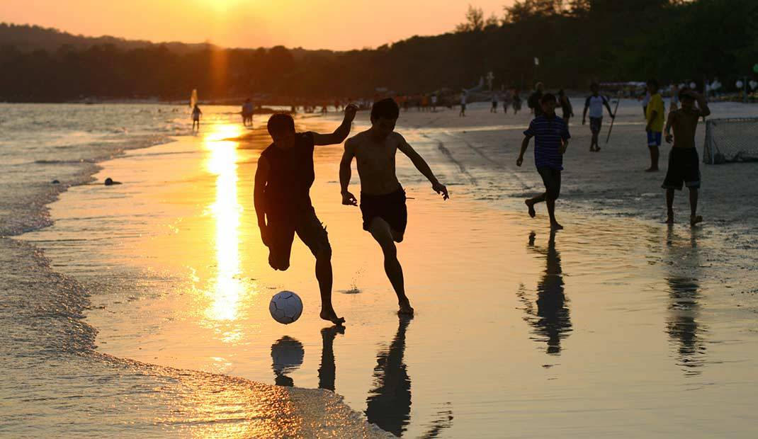 Thailand Beach Football