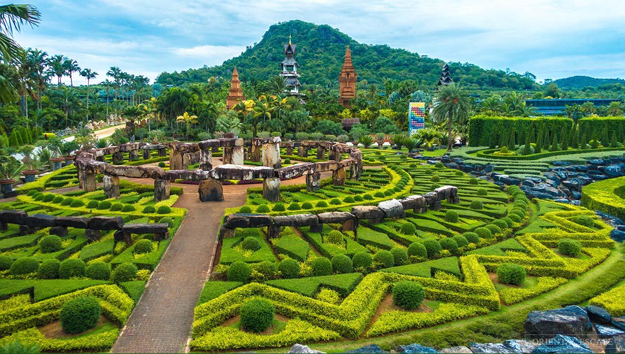 Nong Nooch Gardens Thailand