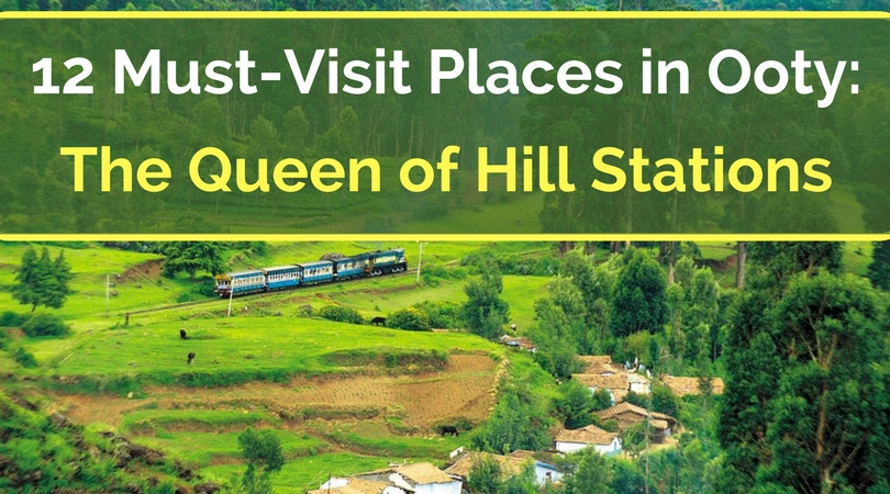 12 Must-Visit Places in Ooty: The Queen of Hill Stations